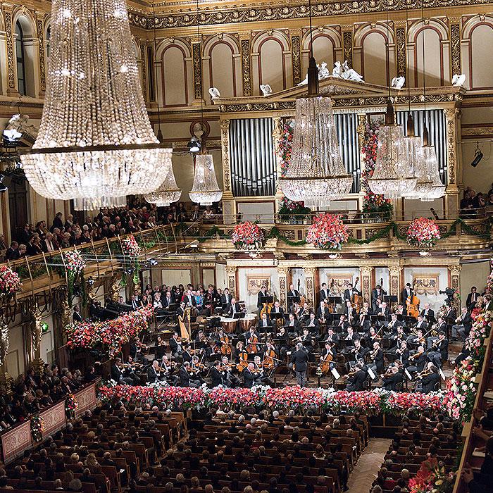New year concert in Vienna